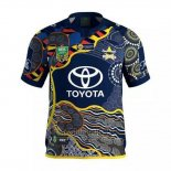 Maglia North Queensland Cowboys Rugby 2017 Indigenous
