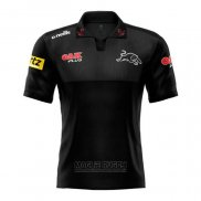 Maglia Polo Penrith Panthers Rugby 2021 Nero