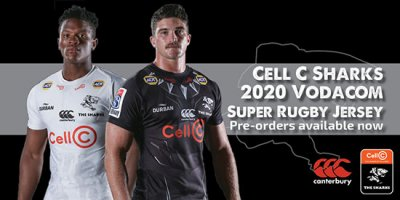 Maglia Sharks rugby 2020