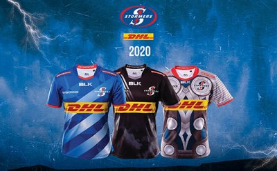 Maglia DHL Stormers rugby 2020