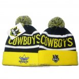 NRL Berretti North Queensland Cowboys Giallo