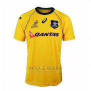 Maglia Australia Wallabies 7s Rugby 2018 Home