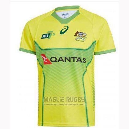 Maglia Australia 7s Rugby 2019-2020 Home