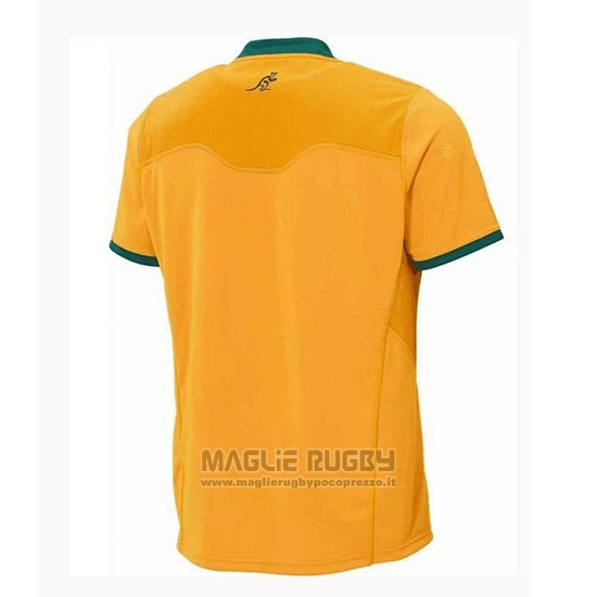 Maglia Australia Rugby 2018-2019 Home