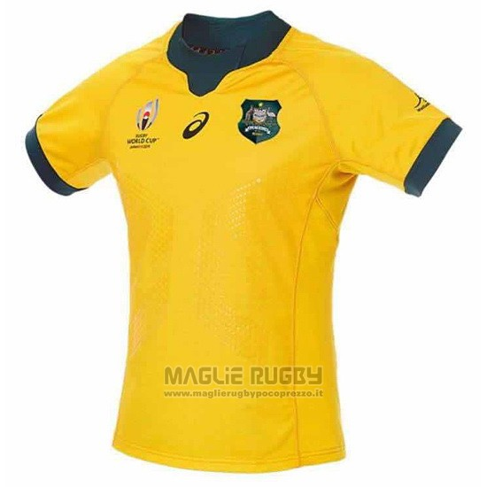 Maglia Australia Rugby RWC2019 Home