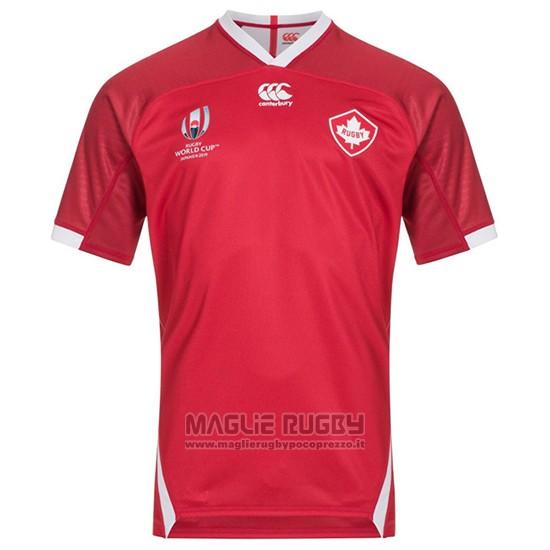 Maglia Canada Rugby RWC 2019 Home