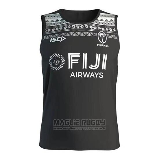 Canotta Fiji 7s Rugby 2020 Nero