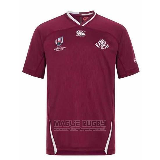 Maglia Georgia Rugby RWC 2019 Marrone