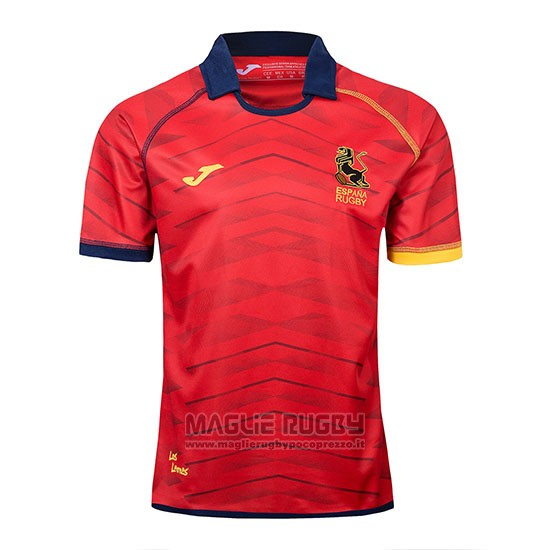 Maglia Spagna Rugby 2019-2020 Rosso