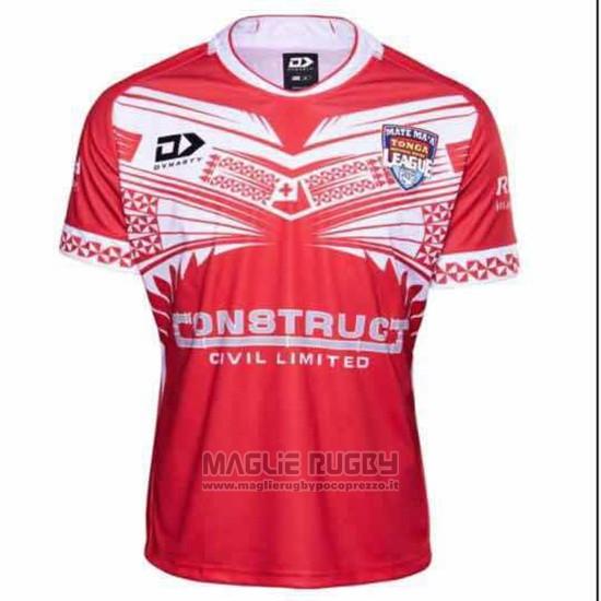 Maglia Tonga Rugby 2019 Home01