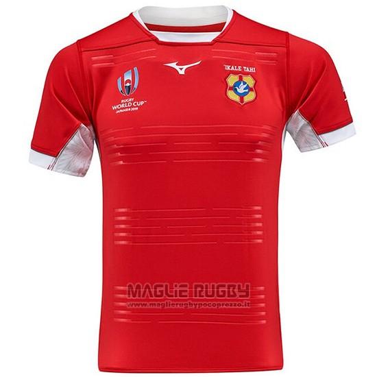 Maglia Tonga Rugby RWC 2019 Rosso