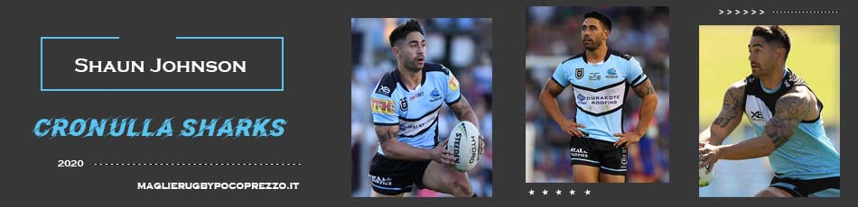 Shaun Johnson Cronulla Sutherland Sharks 2020