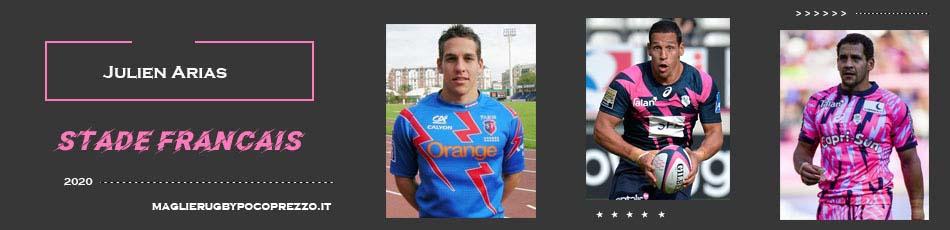 Julien Arias Stade Francais 2020
